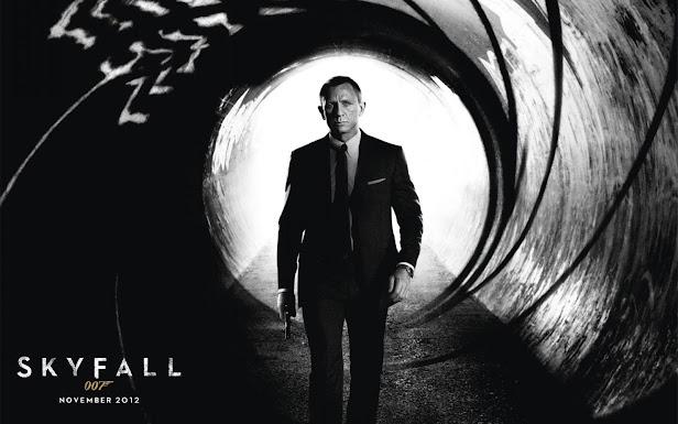 Skyfall wallpaper poster cartel 007