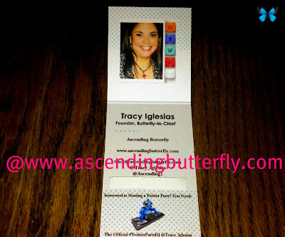 Tiny Prints Ascending Butterfly Business Card Inside