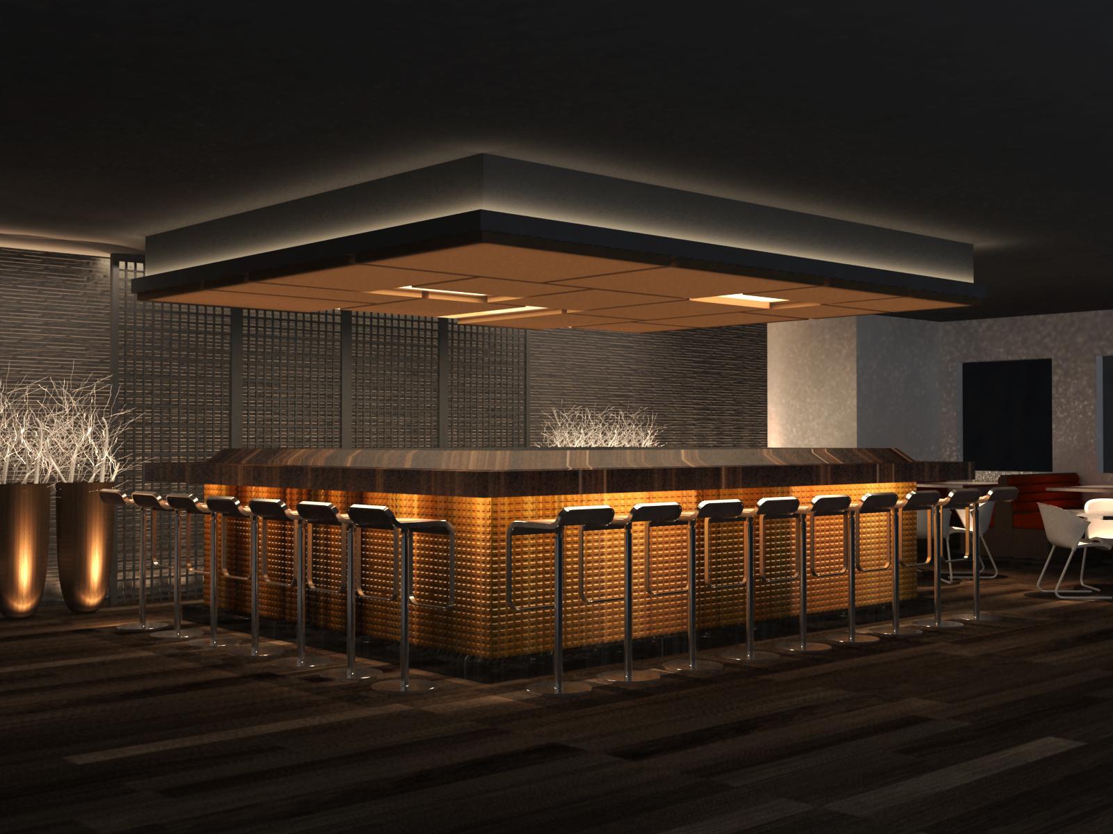 Thiago Leite Arquitetura: RESTAURANTE JAPONÊS #C67F05 1600 1200