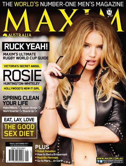 Rosie Huntington Whiteley Latest Maxim Stills
