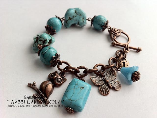blue-turquoise-owl-lake-charm-bracelet