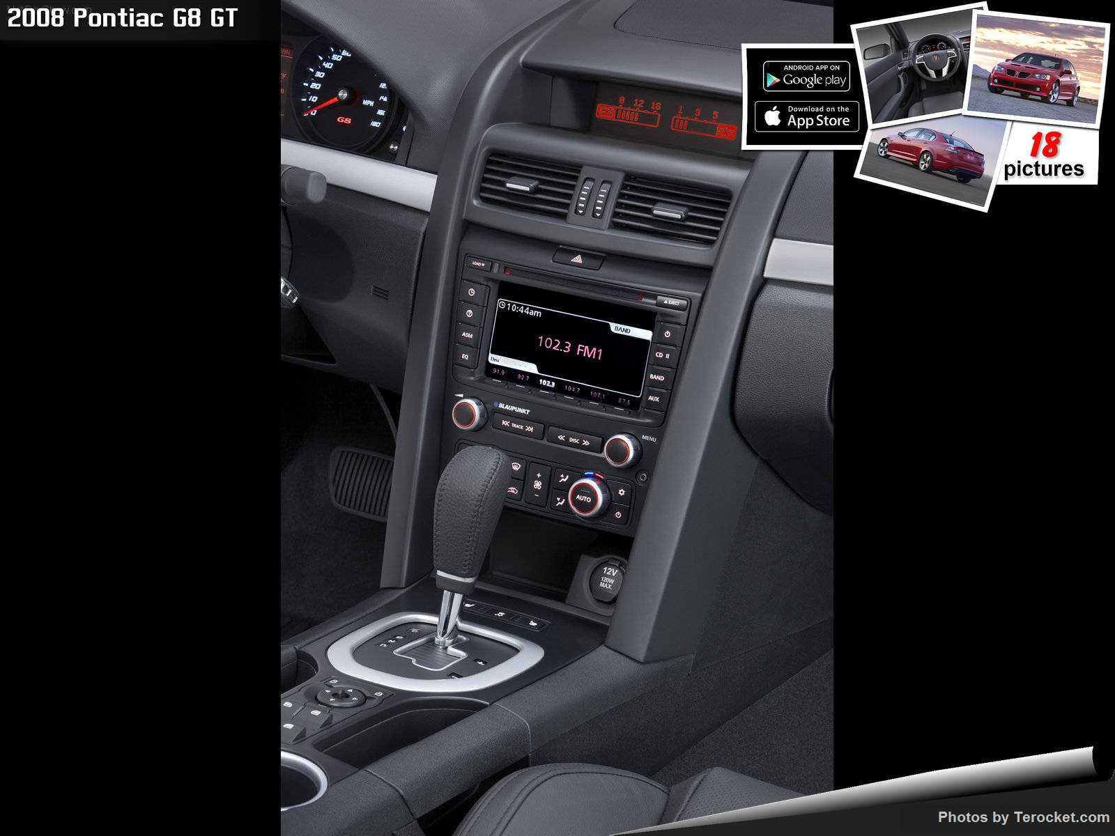 Hình ảnh xe ô tô Pontiac G8 GT 2008 & nội ngoại thất