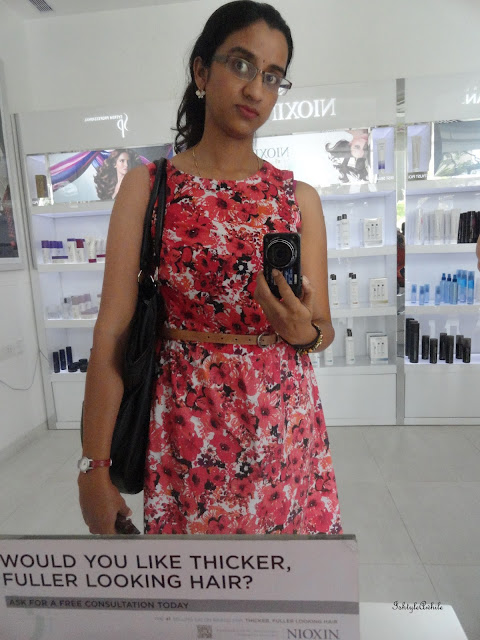 Blogadda event with Bangalore Bloggers: Launch of Nioxin in India.  image
