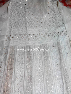 Semi Stitched Wedding Anarkali Suit