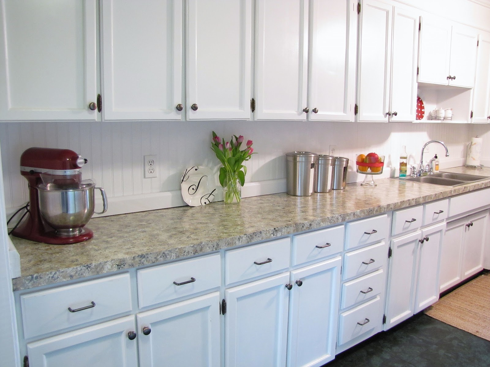 the modest homestead beadboard backsplash tutorial beadboard backsplash tutorial