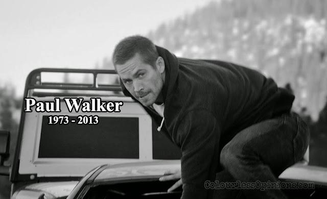 Fast & Furious 7 Paul Walker RIP