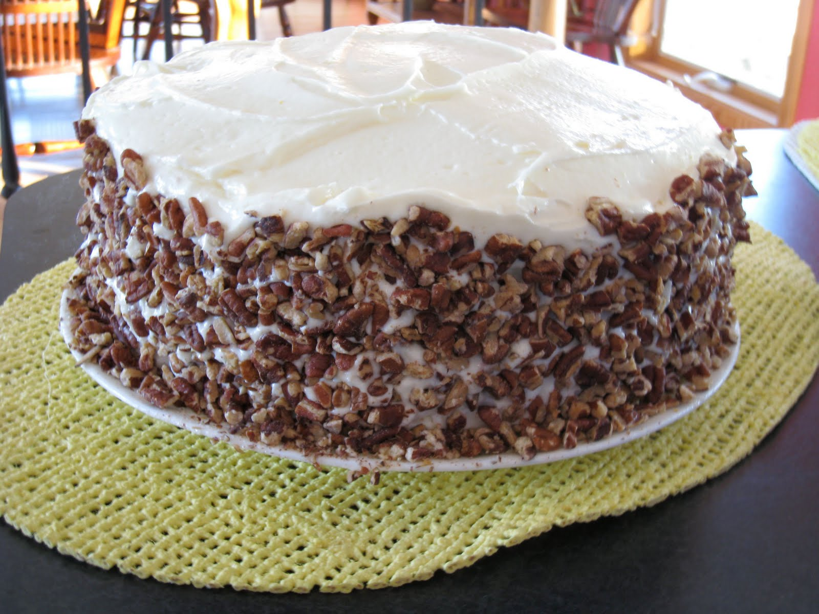... 52 Weeks: Cake #18 - Pecan Spice Layer Cake with Cream Cheese Frosting