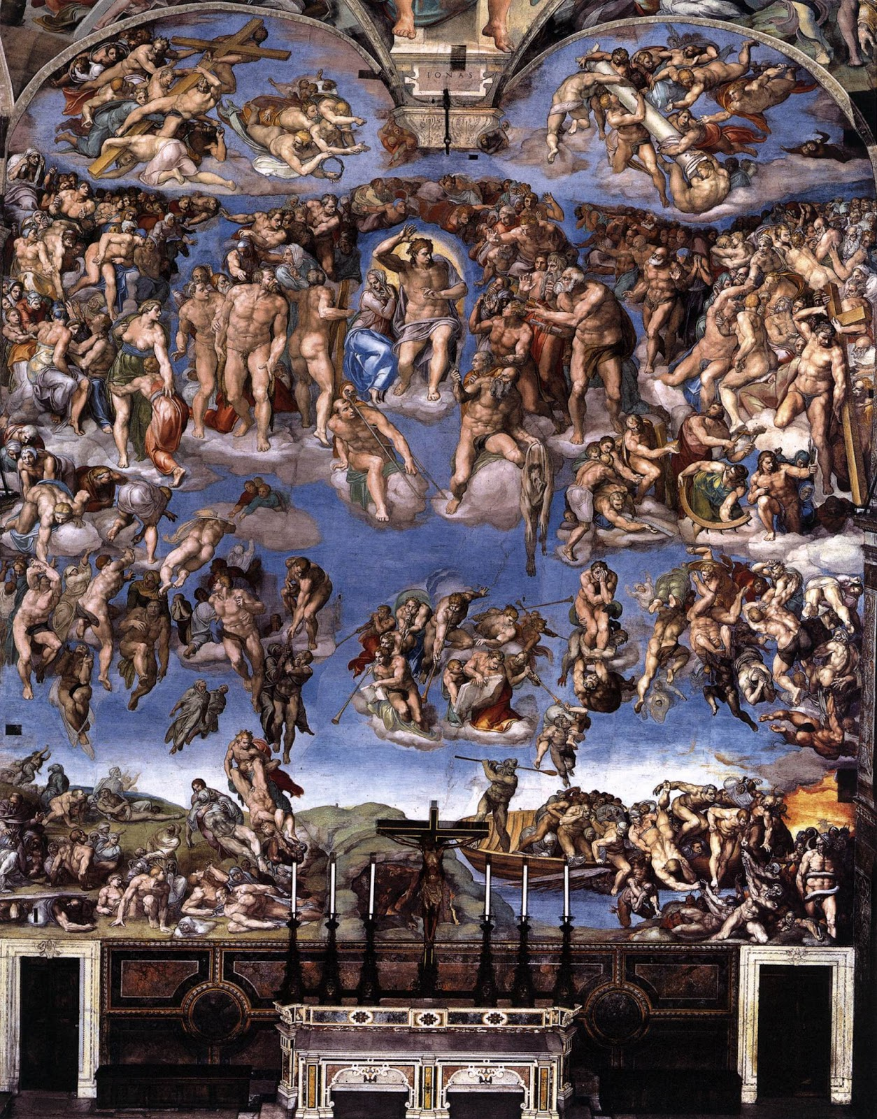 the last judgment michelangelo history essay Free essay: michelangelo de buonarotti,  sistine chapel essay examples  this depiction of the last judgment is beautifully rendered and very stylized.