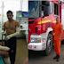 BOMBEIRO QUE SALVOU JOVEM DE 12 ANOS DE INCÊNDIO, VOLTA AS ATIVIDADES