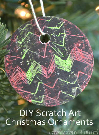 DIY Scratch Art Christmas Ornaments - Creative Family Fun on homemade jewelry designs, homemade apron designs, homemade ring designs, homemade coaster designs, homemade house designs, homemade corbel designs, homemade magnet designs, homemade decoration designs, homemade purse designs, homemade flag designs, homemade shirt designs, homemade wreath designs, homemade dress designs, homemade clothing designs, homemade stocking designs, homemade card designs, homemade book designs, homemade paint designs, homemade poster designs, homemade halloween designs,
