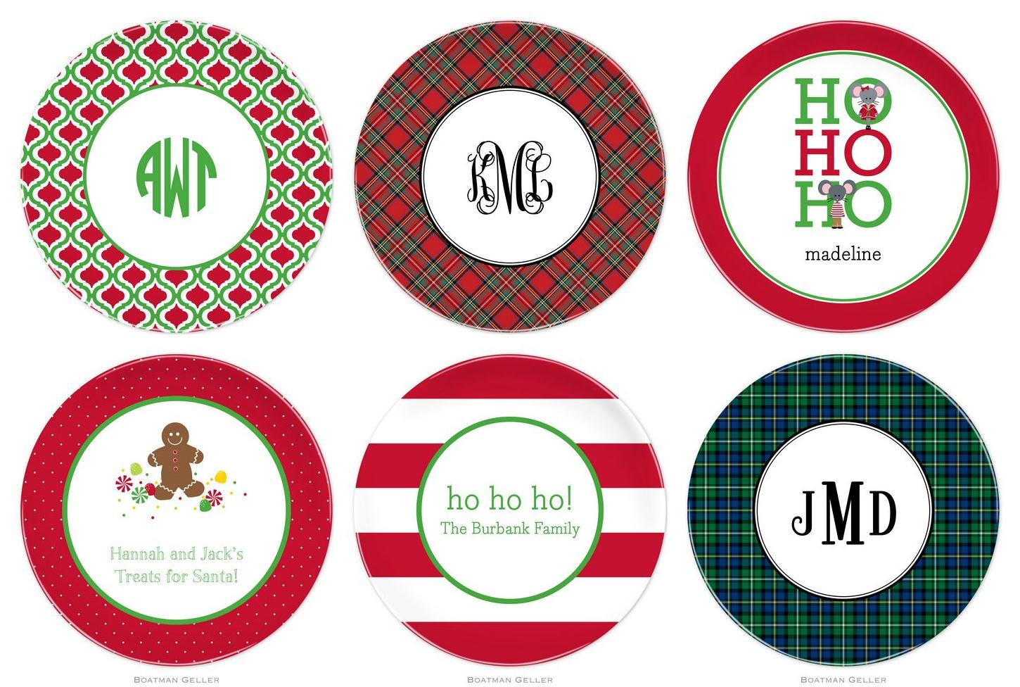 Get your Holiday Melamine Plates from Boatman Geller  sc 1 st  HappyNotes and more...preppy talk & HappyNotes and more...preppy talk: Get your Holiday Melamine Plates ...