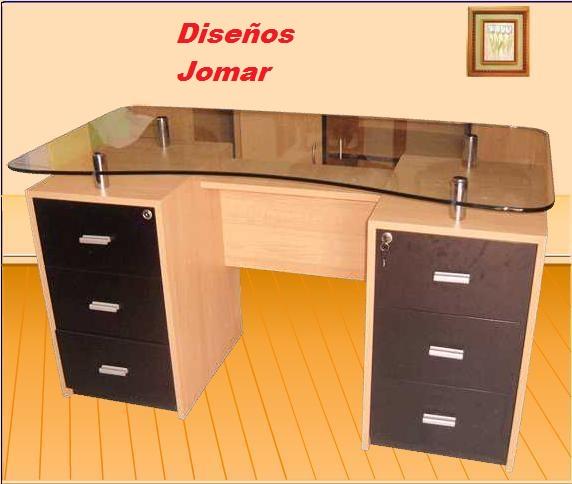 Dise os jomar muebles de escritorio y oficina for Diseno de muebles de escritorio