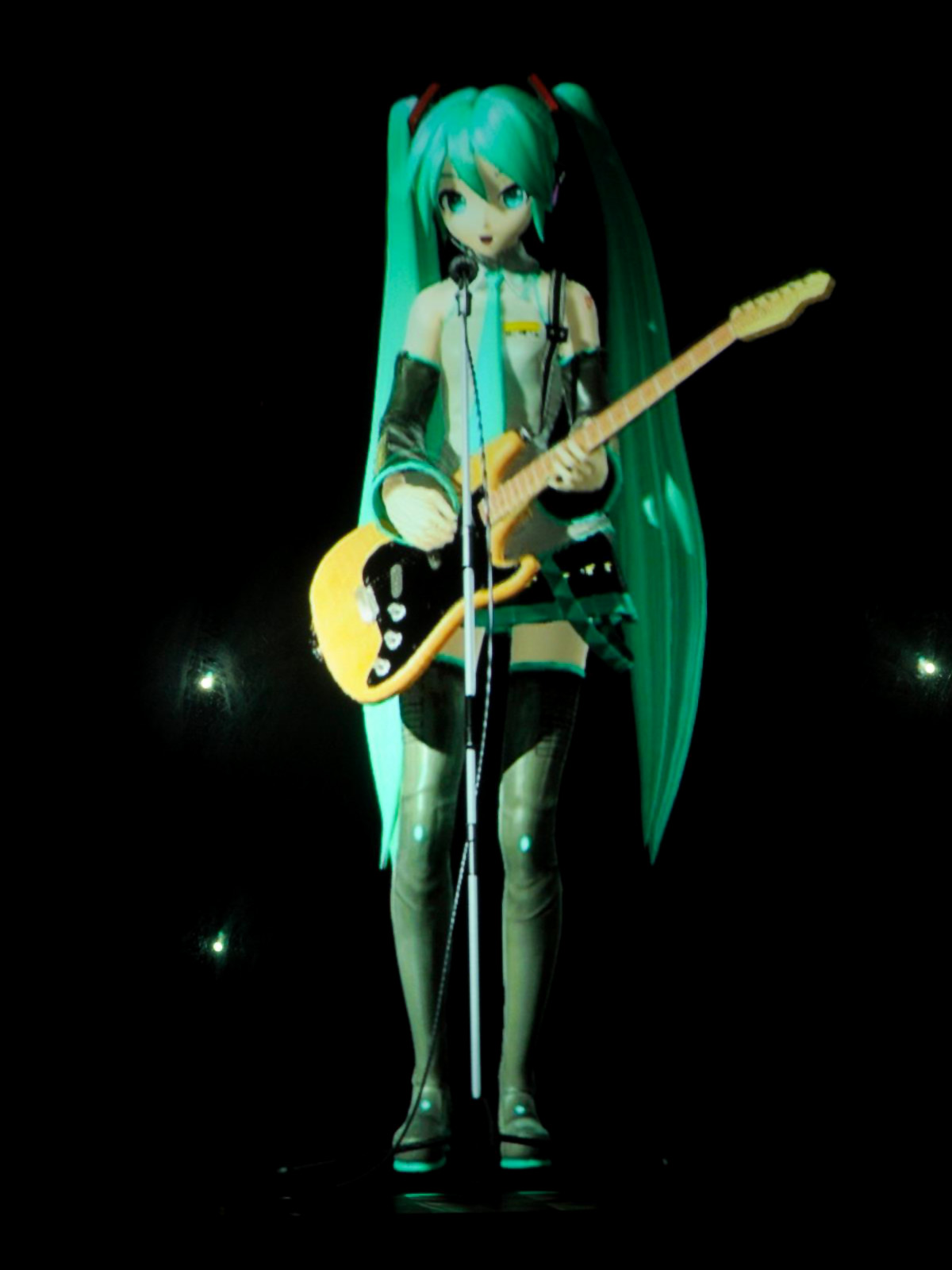 miku live how tall