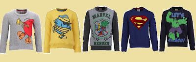 Kidsville boys sweaters