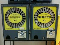 Ballpoint Pen Vending Machine