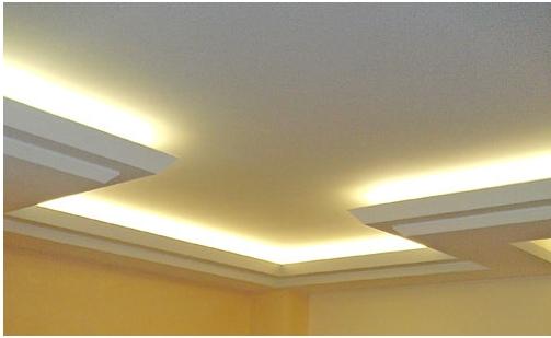 Illuminazione Salotto Cartongesso ~ Idee per il design ...
