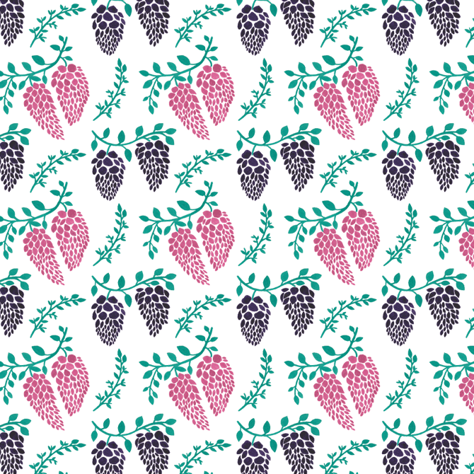 Wisteria Seamless Pattern Free Download