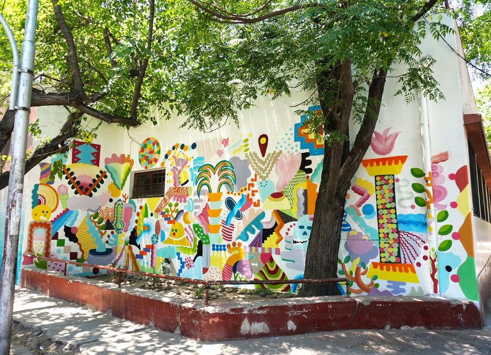 Zosen and Mina Hamada are also in Mendoza, Argentina for the latest edition of the Muropolis Street Art Festival.