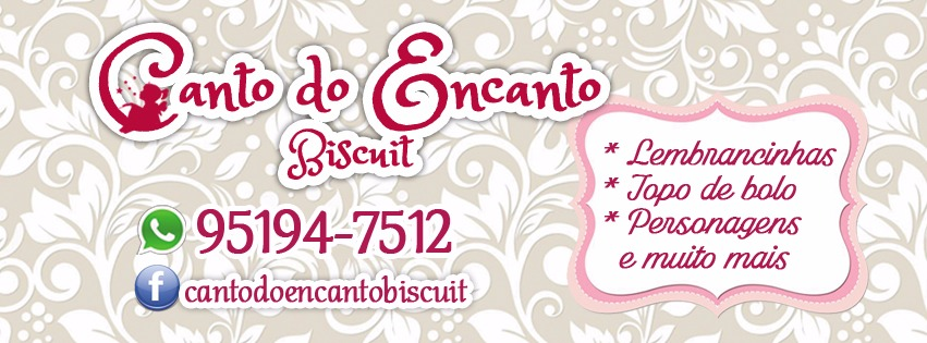 Canto do encanto biscuit