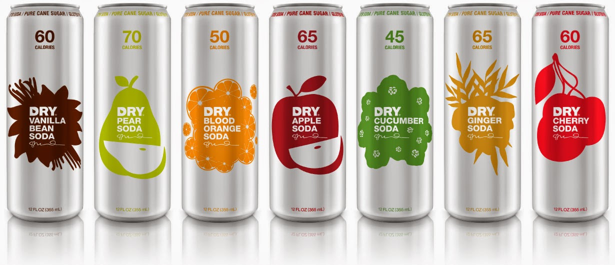 DRy Soda Cans