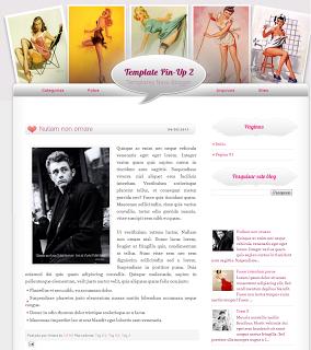 Blogger Pin-Up Tema