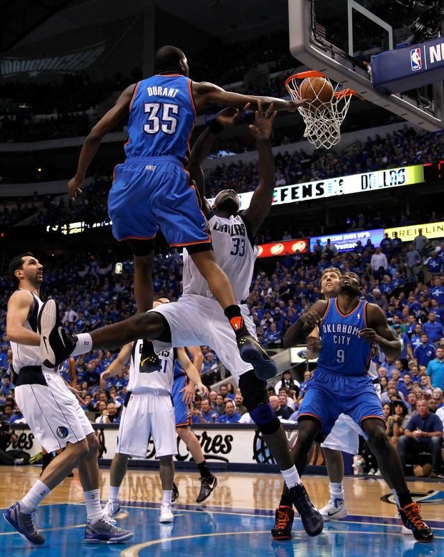 You Got Dunked On 2011 Nba Playoffs Kevin Durant Dunks On Brendan