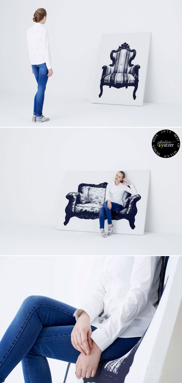 Hanging Canvas Seating by Yoy