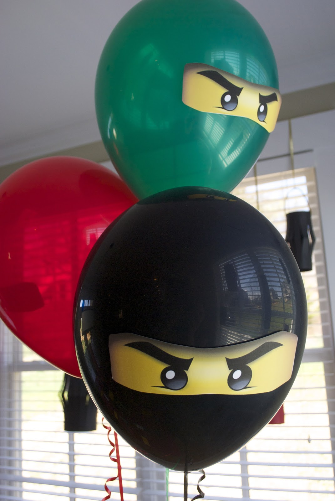 live  laugh  and learn  ninjago  the birthday party