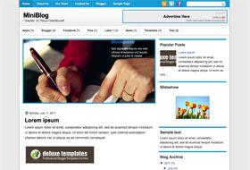 MiniBlog Blogger Template