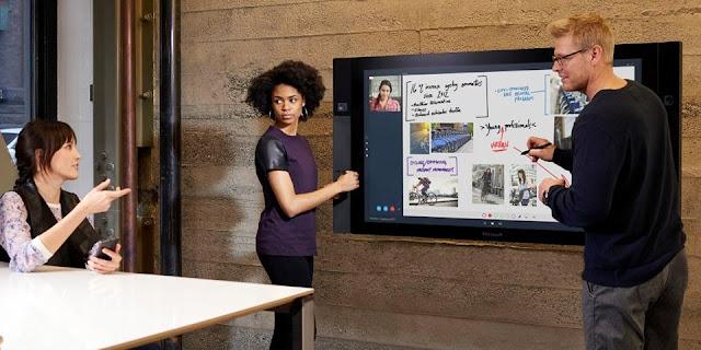 моноблок Surface Hub в офисе
