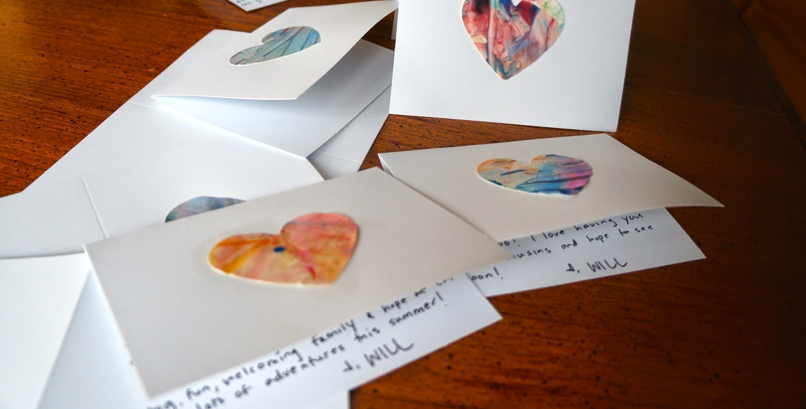 Hardly Housewives Thank You Notes Handmade By Toddler Mom