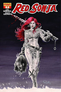 Red Sonja #1a by Nicola Scott