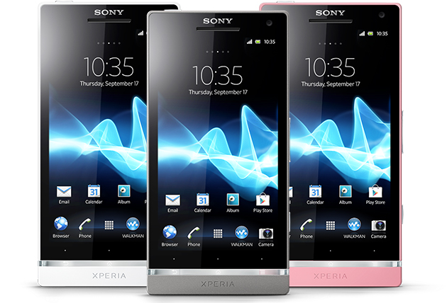 Sony Xperia SL with Android 4.0