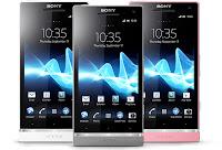 harga xperia sl terbaru, spesifikasi lengkap handphone android 12mp xperia sl, gambar dan pilihan warna xperia sl android ics