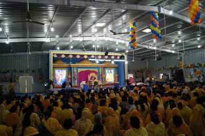 Jagadguru Kripaluji Maharaj at Jagadguru Kripalu University Cuttack