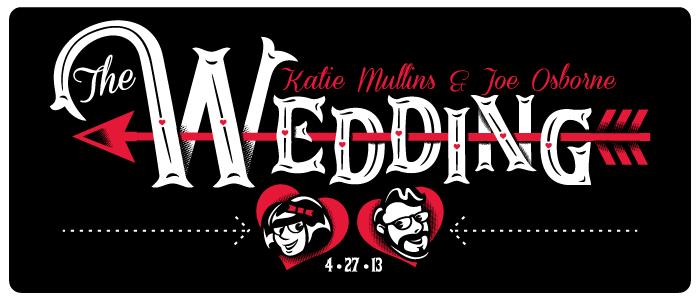 Katie Mullins & Joe Osborne - The Wedding!