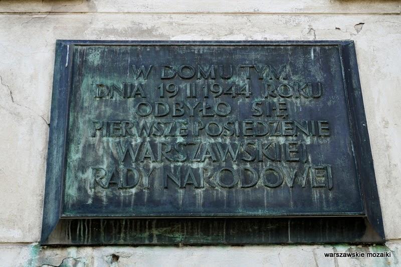 Warszawska Rada Narodowa posiedzenie Wola