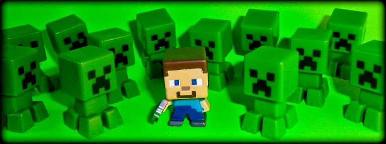 Let Your Toys Live Minecraft Minifigures