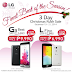 [SALE ALERT] LG Mobile announces 3 Day Christmas Rush Sale! (Updated)