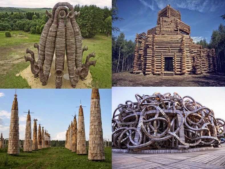 Archstoyanie: El mayor festival de arte de la tierra en Rusia