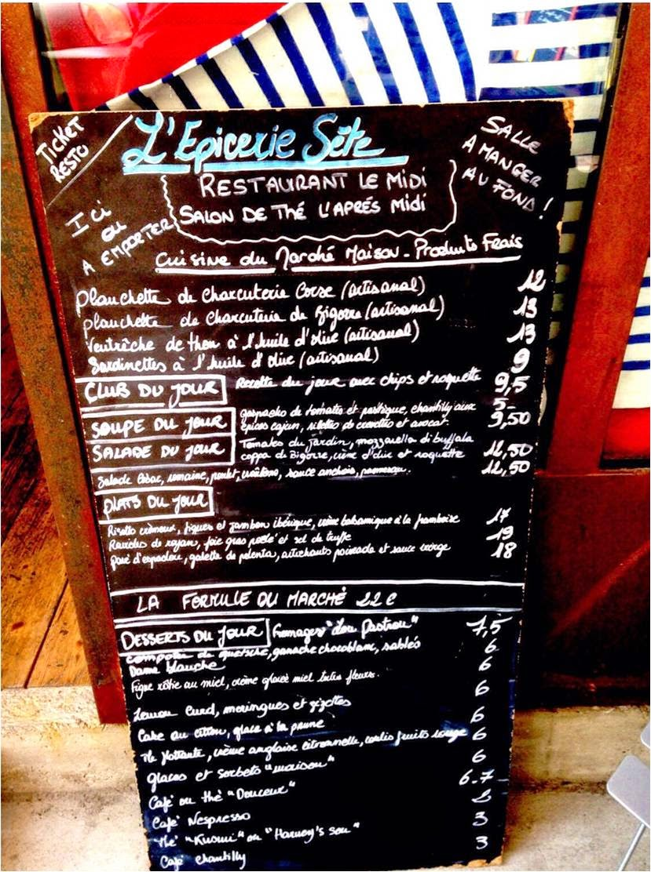 L'épicerie Sète Miam Home Made Restaurant Fait Maison