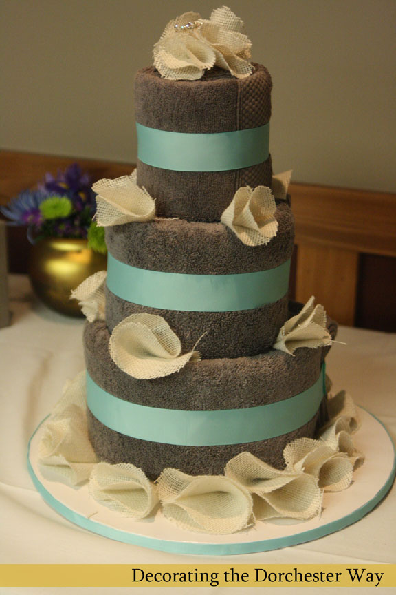 How To Make A Kitchen Towel Cake