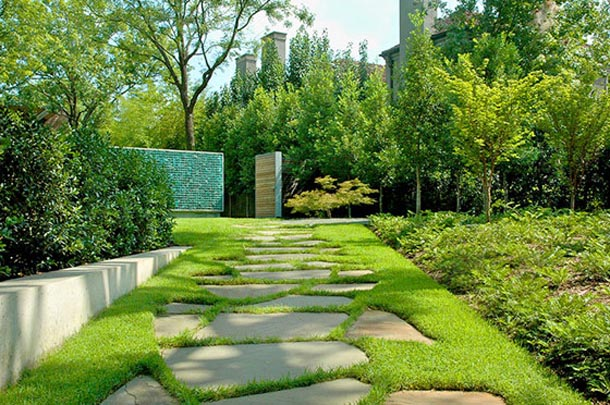 Cheap landscaping ideas for front and backyard designs for Cheap garden ideas designs