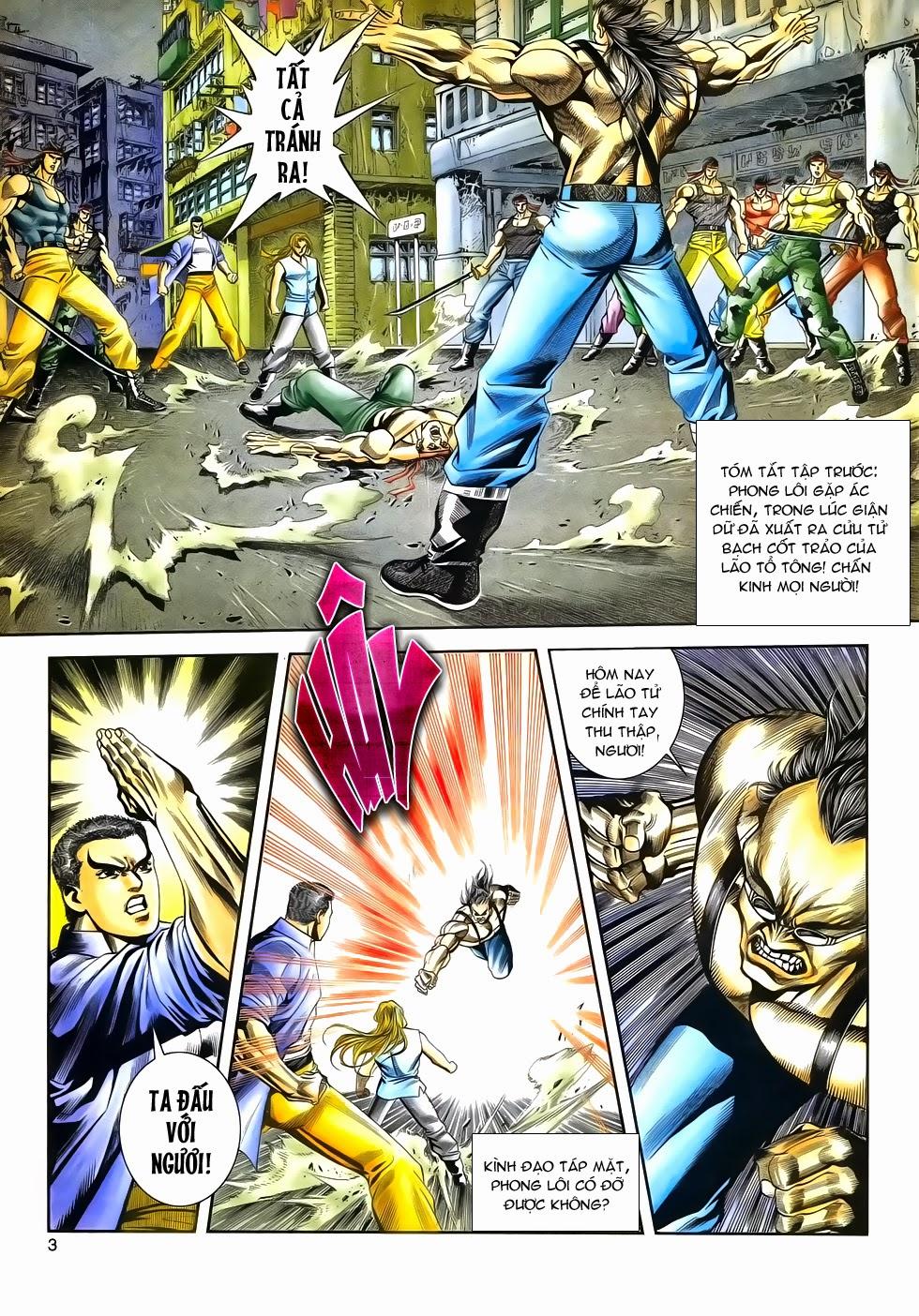 Long Hổ Phong Bạo chap 3 - Trang 3