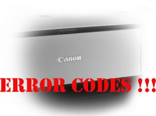 Code Eror Pada MP258
