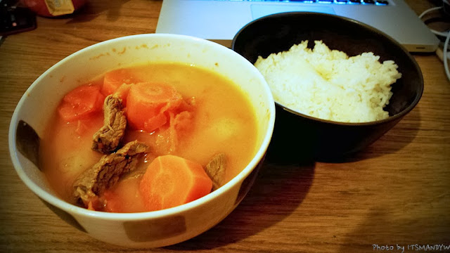 [餐點] 周末隨便煮之。蕃茄羊肉湯。