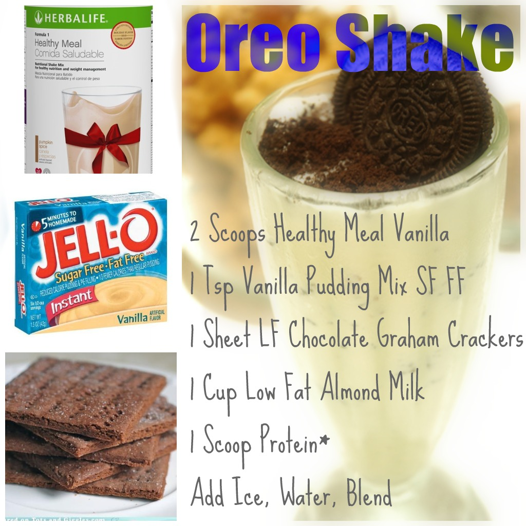 Herbalife cookies and cream shake ingredients