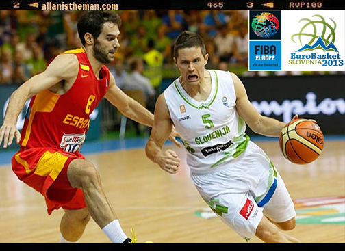 EuroBasket 2013: Slovenia upsets Spain (Highlights Video)