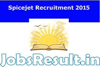 Spicejet Recruitment 2015