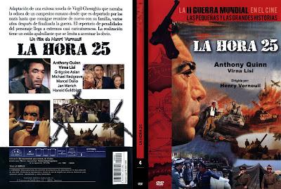 Caratula, cover, dvd: La Hora 25 | 1967 | La Vingt-cinquième heure